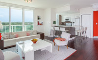 Stunning Views in Real Luxe Apartment. Free Pool, Park. Hotel Arya, Miami