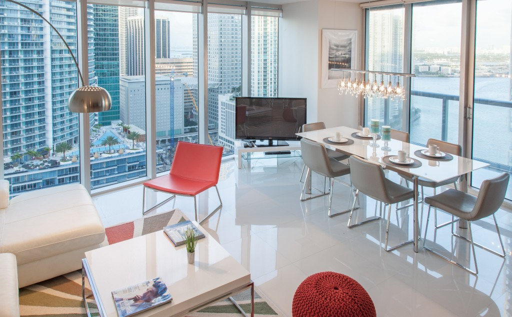 Stunning Sea And River Views From Corner Apartment At W Hotel Residences Miami
