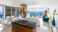OVERLOOKING THE OCEAN, 2/2 LUXE CORNER CONDO. FREE: POOL, SPA, GYM