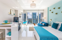 Brickell, Miami in Style. Design Studio 2 min from all City Amenities. Free SPA, Gym, WI-FI