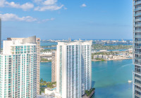 Corner Apartment with Great View of Key Biscayne & Miami River above W Residences