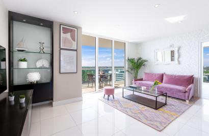 Stunning Views. Free Pool, Park, Gym. Private Luxury Residence at Hotel Arya, Miami