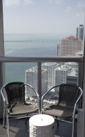 Panoramic Bay Views. Unobstructed!  Corner Apartment by Designer K. Wearstler. Brickell, Miami
