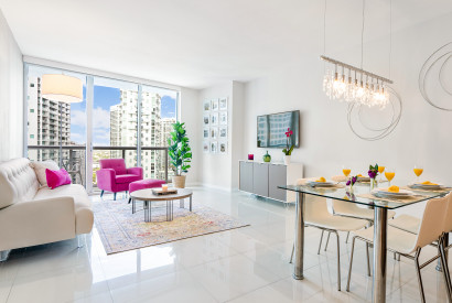 Brickell, City & River Views, W Residences. Free Pool, SPA, Wi-Fi
