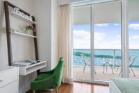 Remodeled 2 BDRM Art Deco Style Apart in Coconut Grove. Stunning Bay Views. FREE Parking, Gym, WI-FI