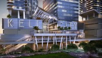 Key Biscayne and Miami River Views from Corner Apartment at W Residences. Brickell, Miami